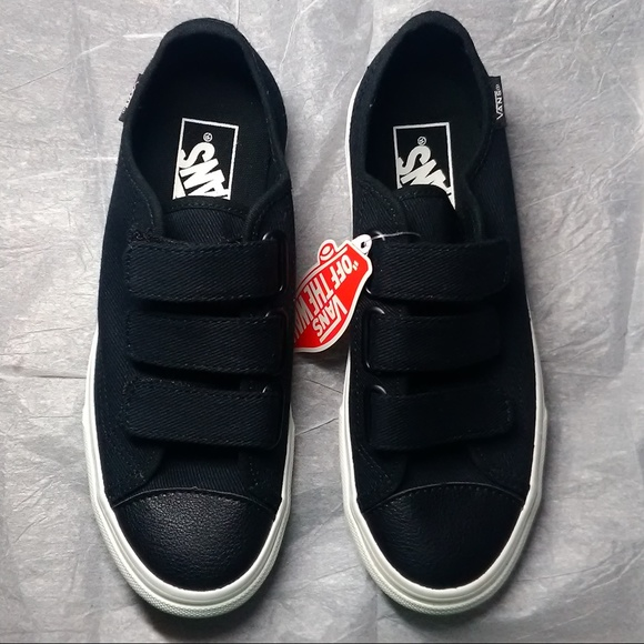 Women size 6 Vans shoes with straps - new 2147bec4f